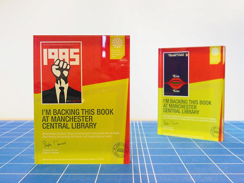 Back a book campaign award